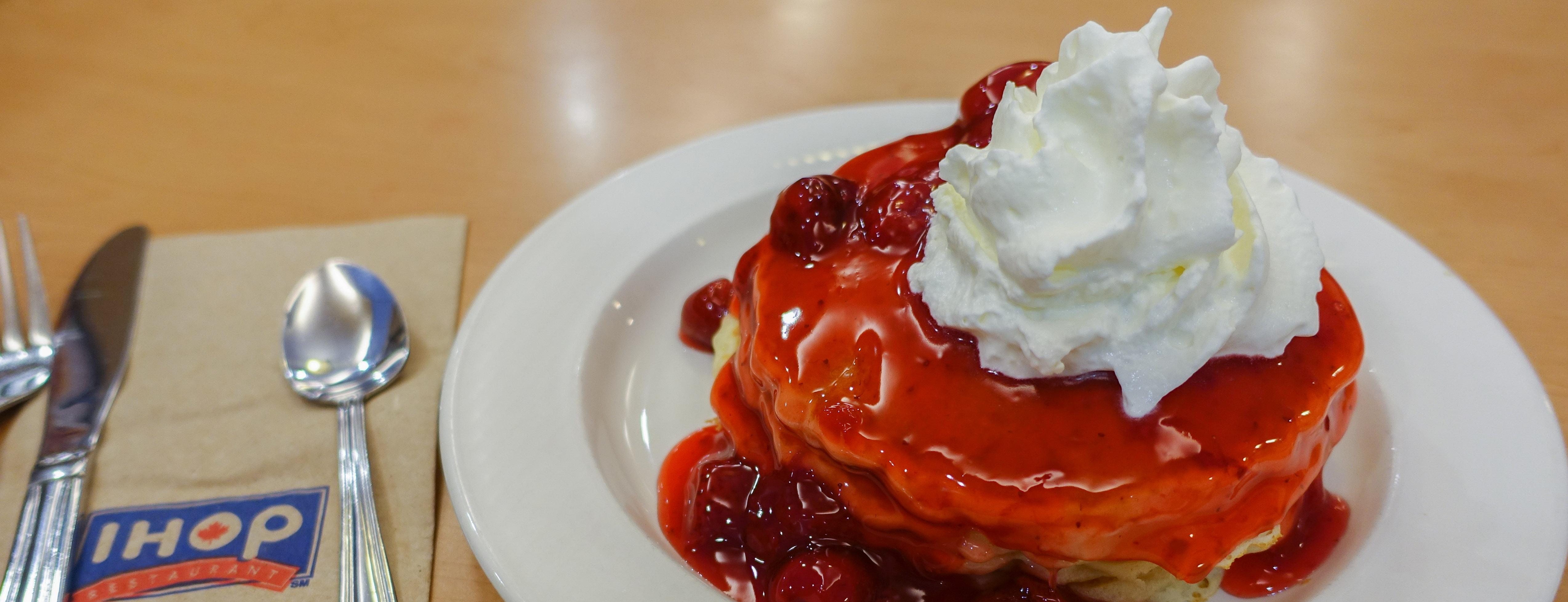 A free birthday pancake meal