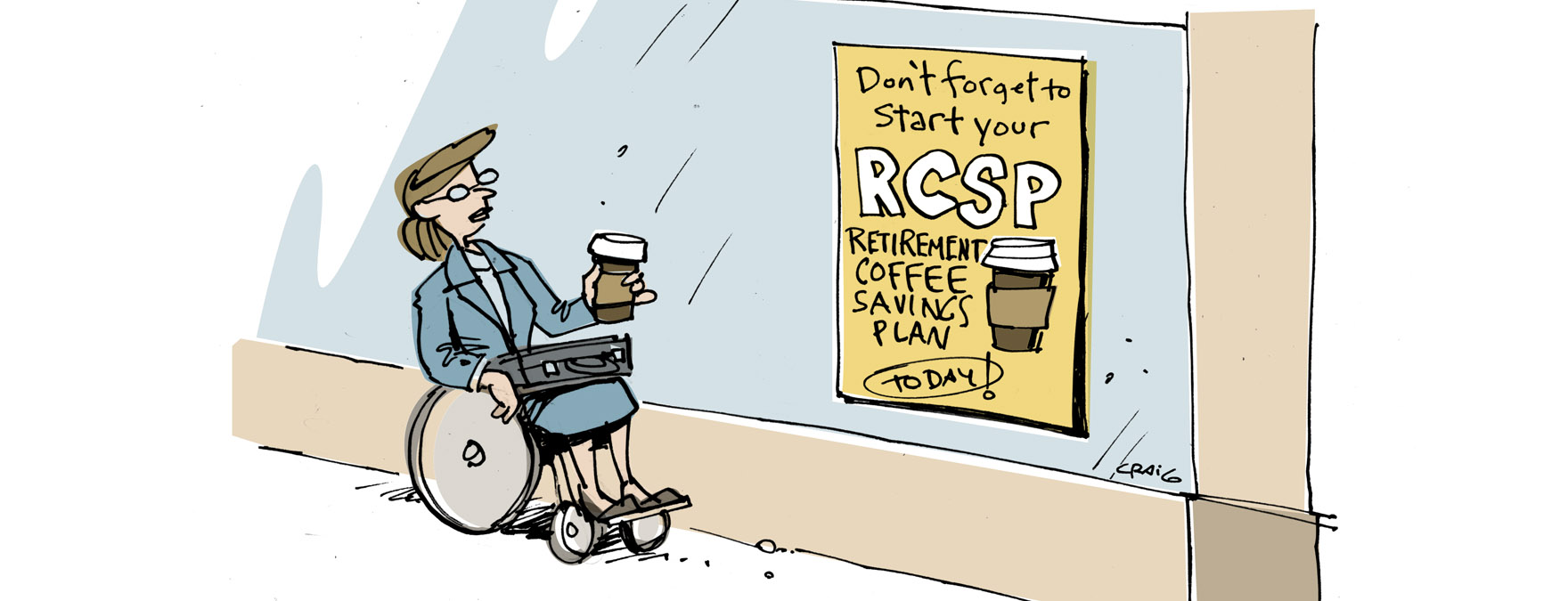 Retirement coffee