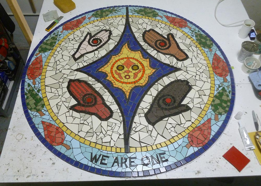 We Are One mosaic